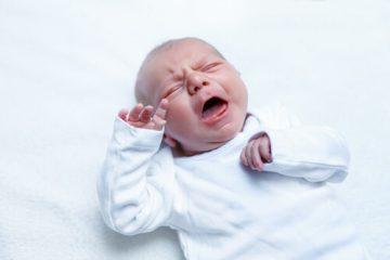 התקפי בכי אצל תינוקות